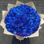"""101 синяя Роза """"Синий океан"""""""