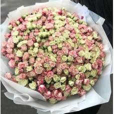 """101 Роза """"Сверкающие бриллианты"""""""