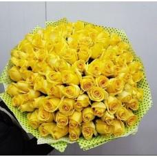 """101 Роза """"Золотая ладья"""""""
