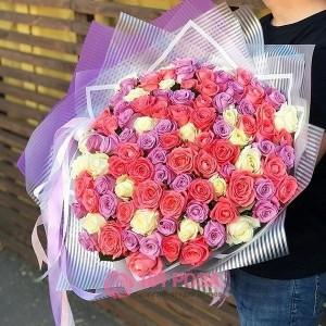 """101 Роза """"Игра света"""" (Кения)"""