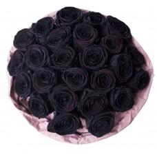 25 черных Роз