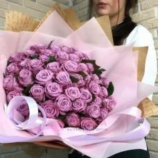 51 Роза Дип Перпл (Эквадор)