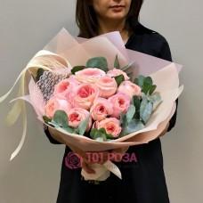 Розы Дэвид Остин микс