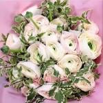 "Букет Ранункулюсов ""Розовый фламинго"""