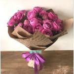 Букет пионовидных роз Мисти Баблс
