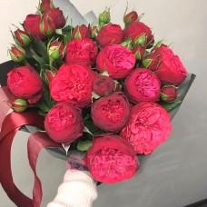 "Букет пионовидных Роз ""Малинки"""