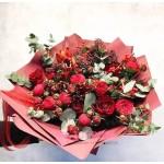 """Букет Роз """"Красные башмачки"""""""
