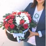"""Букет цветов в коробке """"Милашка Сью"""""""