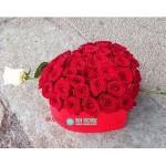 """Розы в коробке """"Сердце любимой"""""""