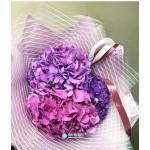 Букет фиолетовых Гортензий