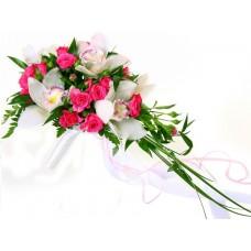 Букет невесты из Орхидей №22