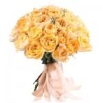 Букет желтых пионовидных Роз