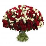 """101 Роза """"Хорошенький букетик"""""""