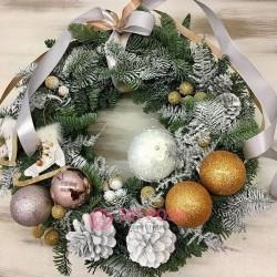 Рождественский венок №5
