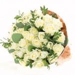 """Букет из белых Роз """"Север"""""""