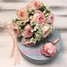 Букет невесты из пионовидных Роз №10