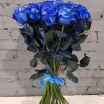 Роза синяя 1 шт.