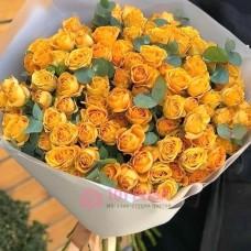 """Букет из кустовых Роз """"Кружева"""""""
