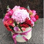 """Букет цветов в коробке """"Натюрморт"""""""