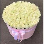 """101 Роза в коробке """"Японский фарфор"""""""