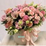 """Букет цветов в коробке """"Лючия"""""""