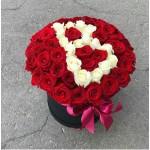 """51 Роза """"Влюбленные"""""""