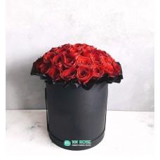 "25 Роз в коробке  ""Софико"""