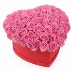 """Розы в коробке """"Милая"""""""