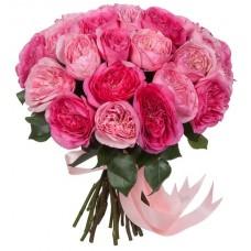 Букет пионовидных Роз микс