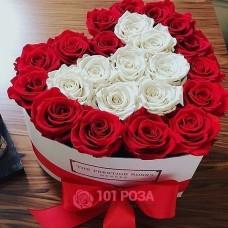 """Сердце из Роз """"Серенада"""""""