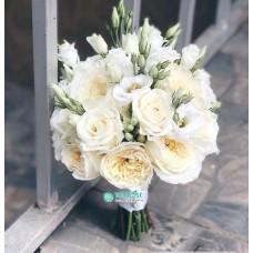 Букет невесты из пионовидных Роз №48