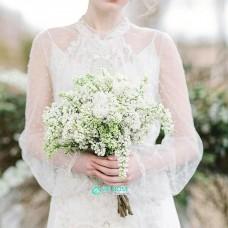 Букет невесты с Сиренью №6