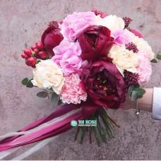 Букет невесты из Пионов №9