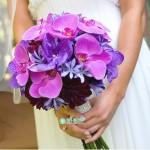 Букет невесты из Орхидей №21