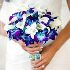 Букет невесты из Орхидей №26