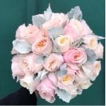 Букет невесты из пионовидных Роз №30