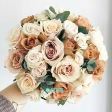Букет невесты из Роз №33