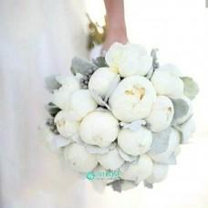 Букет невесты из Пионов №43