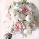 Букет невесты из Пионов и Роз №55
