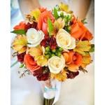 Букет невесты из Роз №66