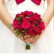 Букет невесты из Роз №75