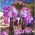 Цветочная композиция в высокой вазе №7