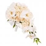 Букет невесты из Орхидей №1