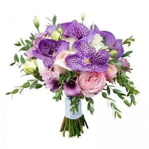 Букет невесты из Орхидей №7