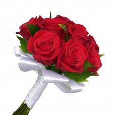 Букет невесты из красных Роз №8