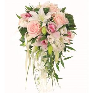 Букет невесты из Орхидей №25