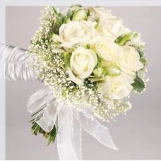 Букет невесты из белых Роз №30