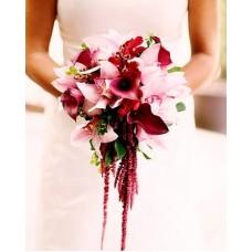 Букет невесты из Орхидей №35