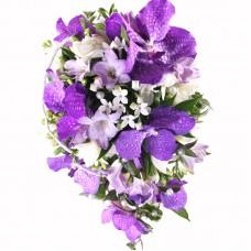 Букет невесты из Орхидей №36
