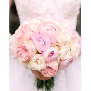 Букет невесты из Пионовидных Роз№37